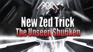 New Zed Trick - The Unseen Shuriken - League of Legends