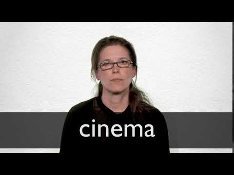 How to pronounce CINEMA in British English