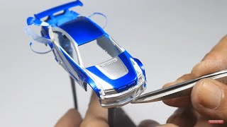 THE LAZY WAY TO MAKE RAZOR BMW M3 E46 NFS MOST WANTED FROM HOT WHEELS