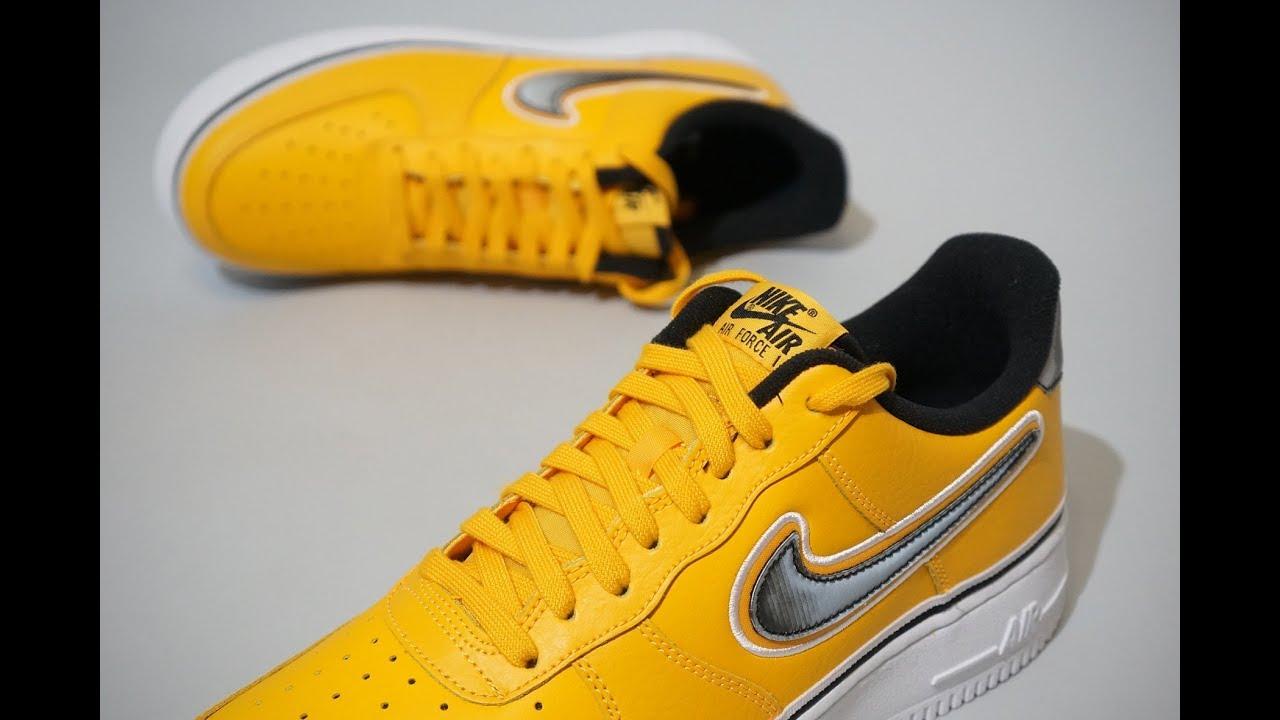 Low Nike Force Angeles 700 1 Air Bv1168 Los Lakers ymNOPnwv80
