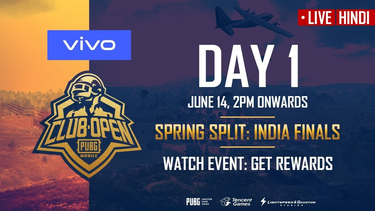 PUBG Mobile Club Open 2019 Spring Split India Finals
