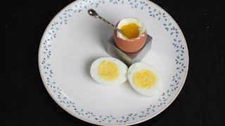 Як правильно варити яйця. Відео-техніка