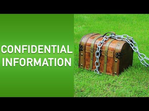 Confidential information | Bitesized UK Employment Law Videos by Matt Gingell