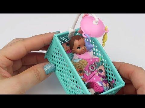 Barbie Skipper Yeni Oyun Seti Hediyem! Kolay Portatif Barbie Bebek Eşya Yapımı Bidünya Oyuncak