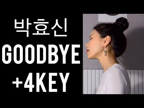박효신 - Goodbye +4Key 여자버전 커버 COVER BY NIDA