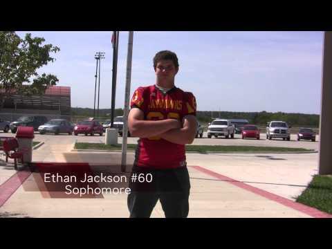 Jayhawk-Linn Football Roster 2012