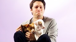 Dylan O'Brien From The Maze Runner Plays With Puppies