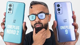 OnePlus Nord 2 vs OnePlus 9 - Which should you buy?