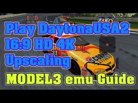 SEGA MODEL 3 Emulator / SuperModel Guide / Playing Daytona USA 2