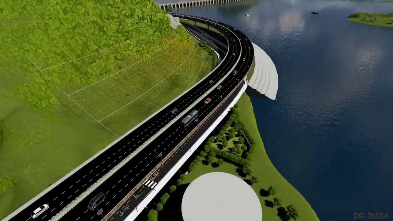 Kanaka Durga Flyover Design vijayawada || SC WONDERS || - YouTube