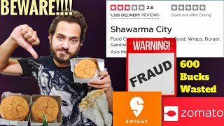 Food Scam in Zomato, Swiggy Exposed!!