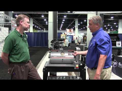 SuperMax Tools 19-38 Sander - AWFS 2015