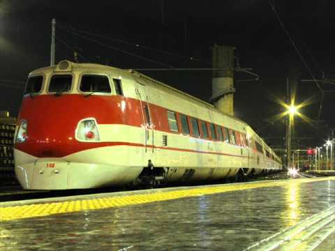 La storia degli ETR (Elettro Treni) in Italia.