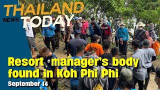 Countdown to October reopening, body of Koh Phi Phi resort manager found  Thailand News Today Sep 16