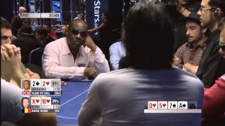 European Poker Tour 10 Grand Final - Main Event - Episode 1 | PokerStars(PokerStars and Monte Carlo Casino present the Season 10 European Poker Tour Grand Final! It's Day 2 and a couple of last year's finalists are back under the ..., 2015-01-08T10:10:01.000Z)