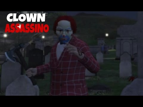 SPECIALE HALLOWEEN - COME CREARE COMPLETO DA CLOWN ASSASSINO *KILLER CLOWN OUTFIT* ! GTA 5 ITA