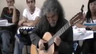 Manuelcha Prado en la UTP - Adiós Pueblo de Ayacucho