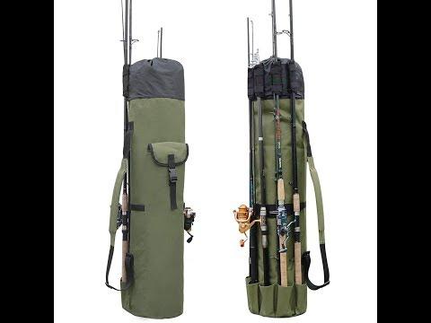 Fishing Portable Multifunction Nylon Fishing Bags Fishing Rod Bag Case Fishing Tackle Tools Storage