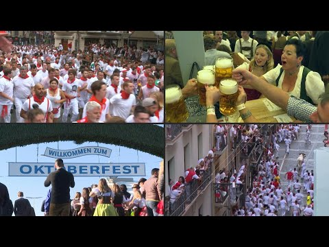 San Fermín Y Oktoberfest Canceladas | AFP