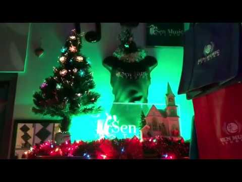 Welcome to Sen Music Studios Christmas Decorations 2017