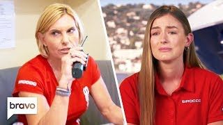 Aesha Opens Up Captain Sandy Yawn Responds To An Emergency Below Deck Med Highlights S4 Ep9