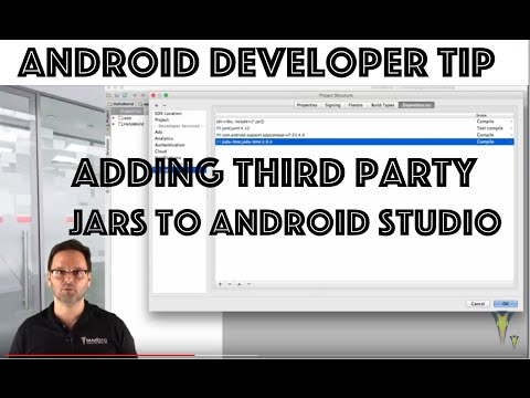 Add Dependencies To Android Studio