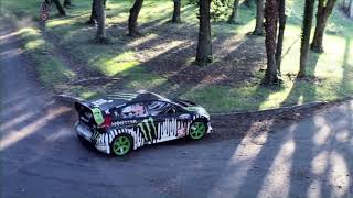 DC SHOES: Ken Block's Gymkhana THREE, Part 2; Ultimate Playground; l'Autodrome, France(Shot just south of Paris, France in Linas at l'Autodrome de Linas --Montlhéry, this 1.58 mile oval track, built in 1924, features banks as steep as 51 degrees, ..., 2010-09-14T19:03:19.000Z)
