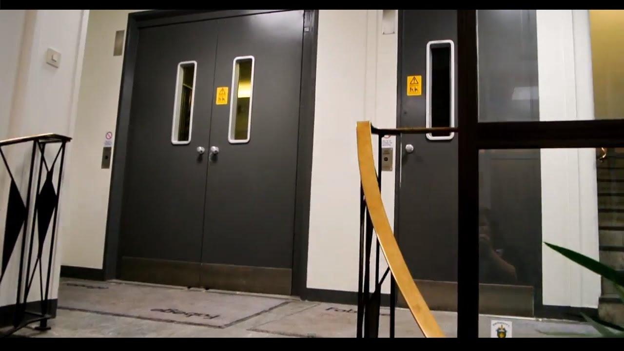 1960u0027s ASEA epic freight elevator with gated side door (mb. KONE) @ Stockholm Sweden - YouTube & 1960u0027s ASEA epic freight elevator with gated side door (mb. KONE ...
