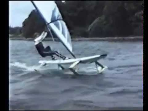 The Worlds First Windsurfing Hydrofoil - Boardseeker