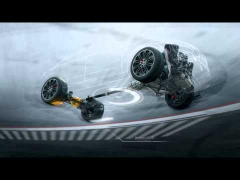 Porsche Macan - Animation Torque Vectoring (Trailer 2014)