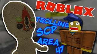 TROLLING IN SCP AREA-47 (Roblox)