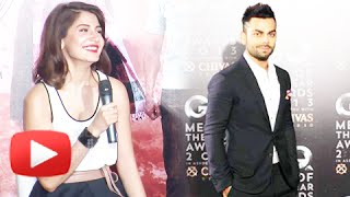 Anushka Sharma Blushes At The Mention Of Virat Kohli – PK Teaser Launch