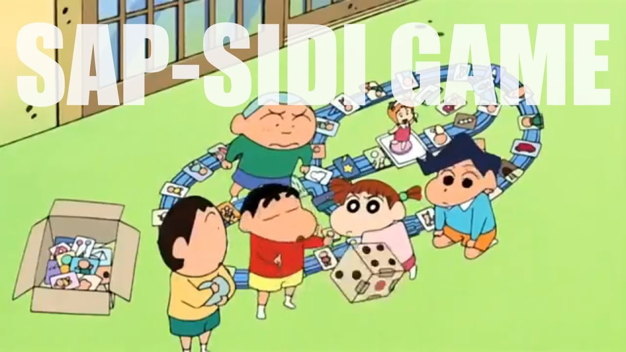 Shinchan Hindi   Shinchan plays Sap-Sidi [HD]