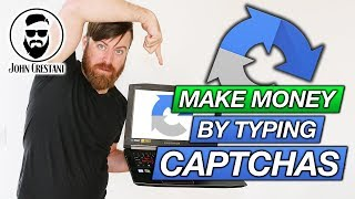 Make Money Typing Captchas (So Easy ANYONE Can Do It)