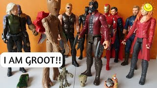 Evolution of Groot in LEGO Marvel Super Heroes