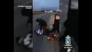 Автоугонщики-рецидивисты из п. Уренгой – арестованы. Оперативное видео
