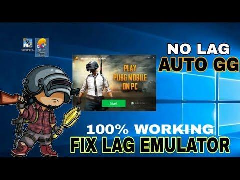 100% WORKING! FIX LAG TENCENT GAMING BUDDY EMULATOR - PUBG