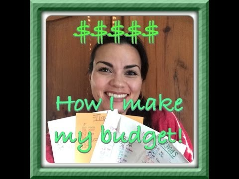 How to: Create a Personal Budget - How I do mine!