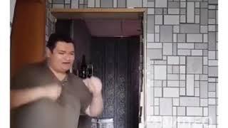 Уроки карате от кабана