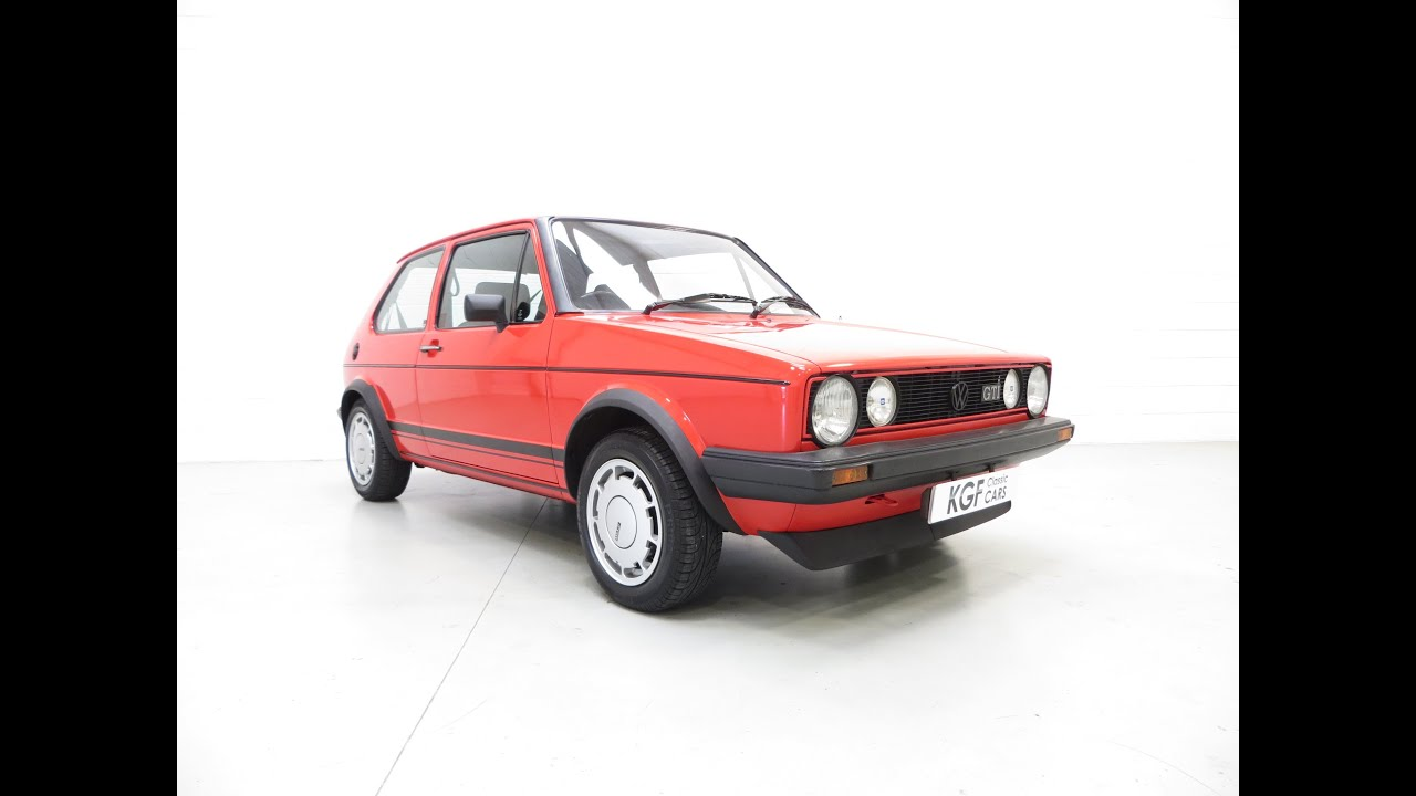a legendary mk1 vw golf gti campaign edition in impeccable. Black Bedroom Furniture Sets. Home Design Ideas