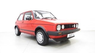 A Legendary Mk1 VW Golf GTi Campaign Edition in Impeccable and Original Condition - SOLD!