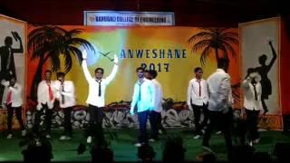 chavat boys dance performance 2k17 in bce shravanbelgola