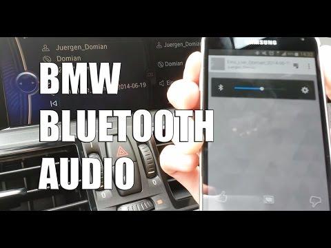BMW Bluetooth Audio Streaming
