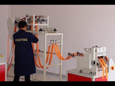 Cutting Heavy Duty Webbing Strap With Automatic Feeding Equipment