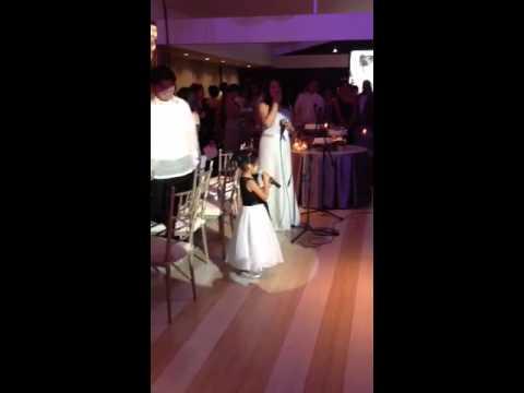 Kami\'s Wedding Reception Dinner Prayer - YouTube