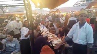 Marrakech piazza Jemaa El fna