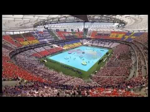 Церемония открытия ЕВРО-2012