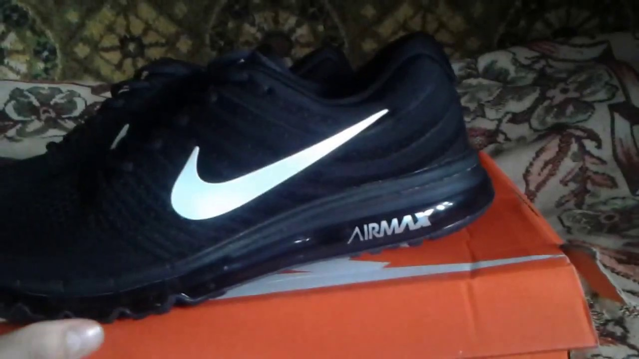 Unboxing Nike Air Max 2017 (реплика)