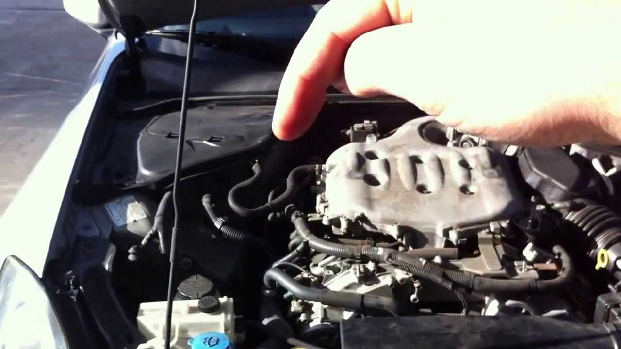 small resolution of 2006 infiniti g35 pcv valve location