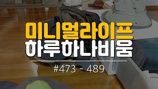 [미니멀라이프] 하루하나비움 #473 - 489. 수납…